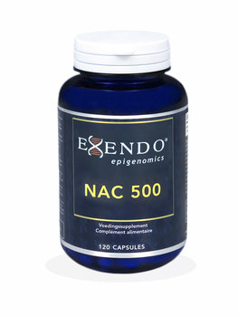NAC 500 (N-acetyl-cysteïne) – 120 caps