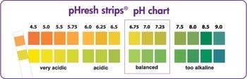pH test strips - 80 x