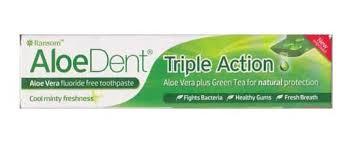 Aloe Dent-triple action: no fluor